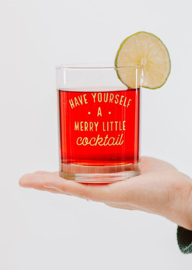 Merry Little Cocktail, Cocktail Glass