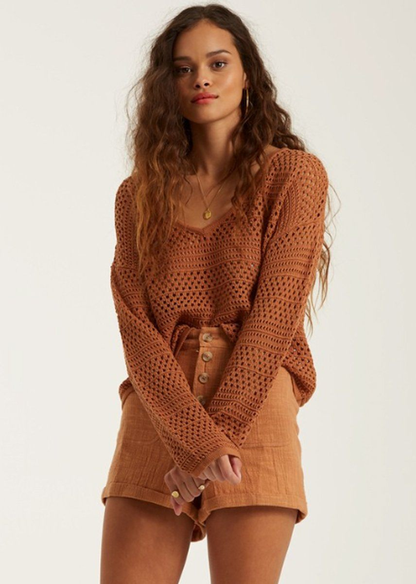 Good Times Sweater - Bronze