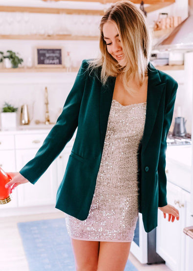 Tailored Emerald Blazer