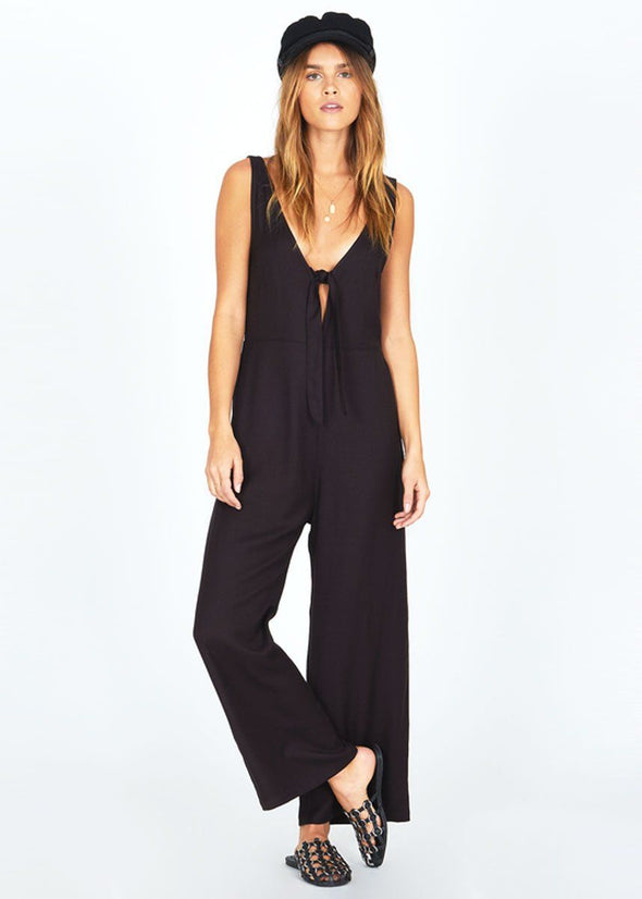 Hang On Jumpsuit - Black