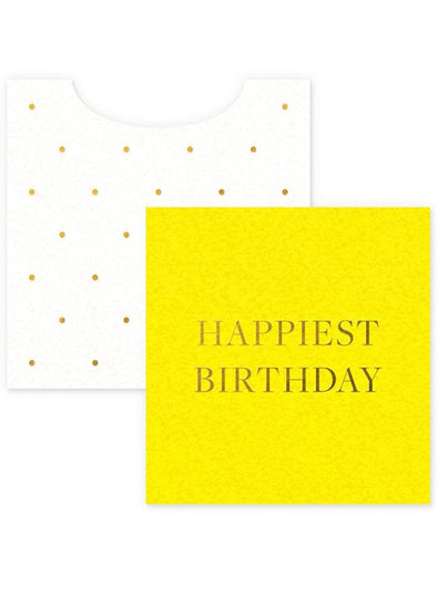 Happiest Birthday Mini Card