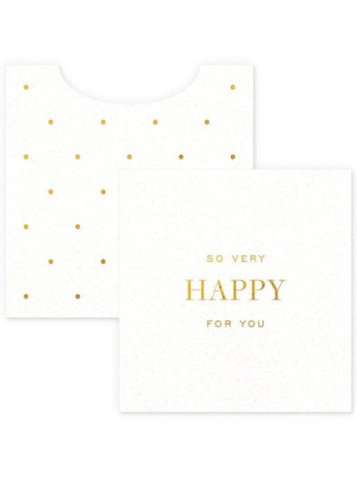 So Very Happy Mini Card