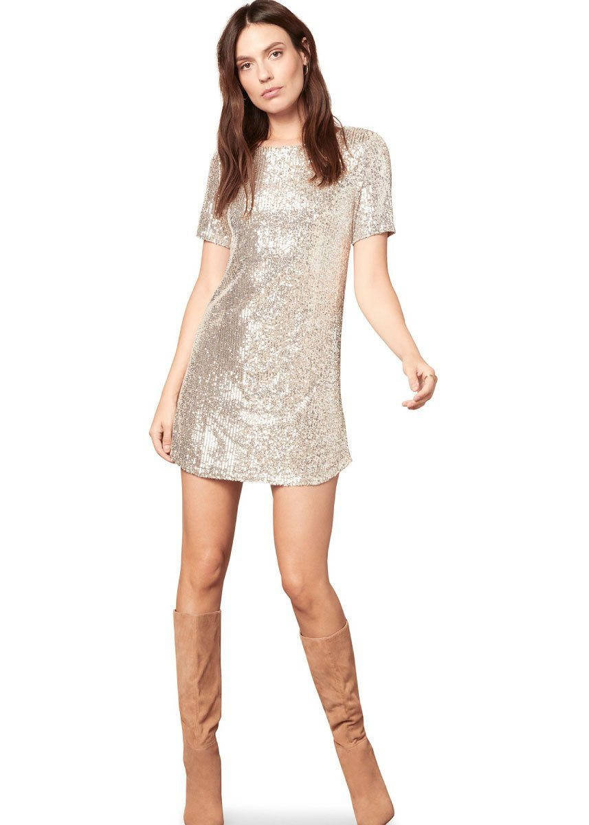 Hit The Lights Sequin Dress
