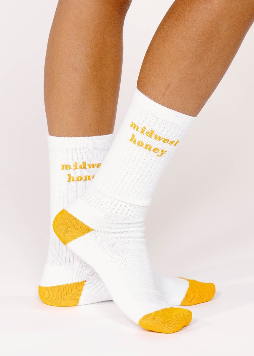 Midwest Honey Crew Sock