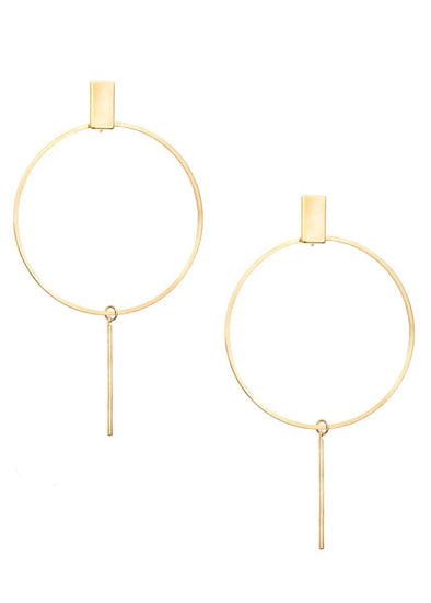 Carmen Minimal Hoop Earrings