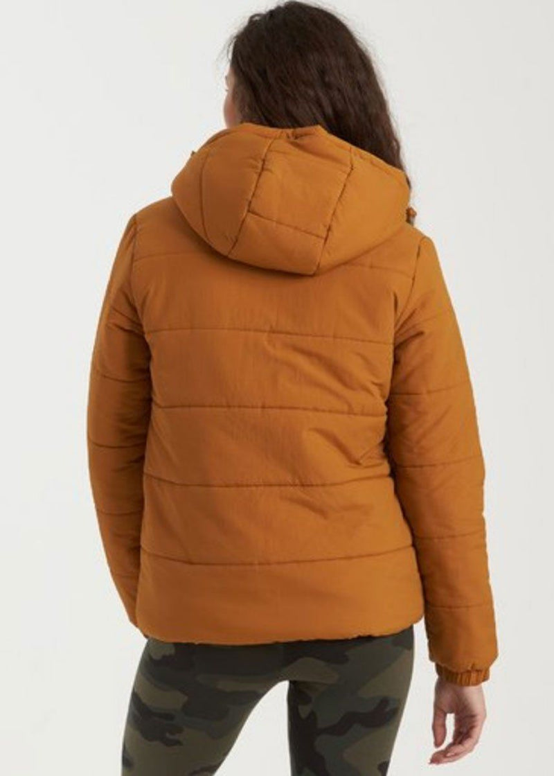 Transport Puffer Jacket - Inca Gold