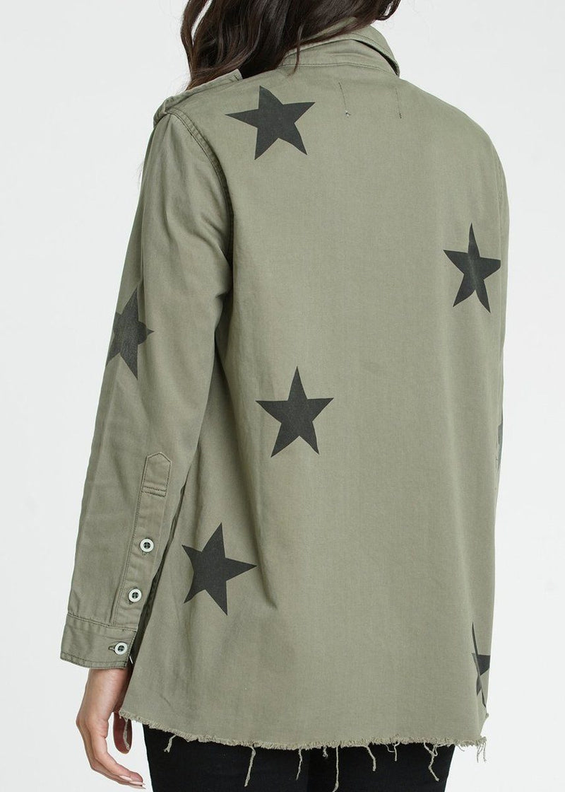 Camilo Military Jacket - Royal Honor
