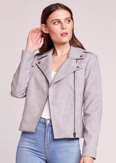 Easy Rider Moto Jacket - Stone Grey