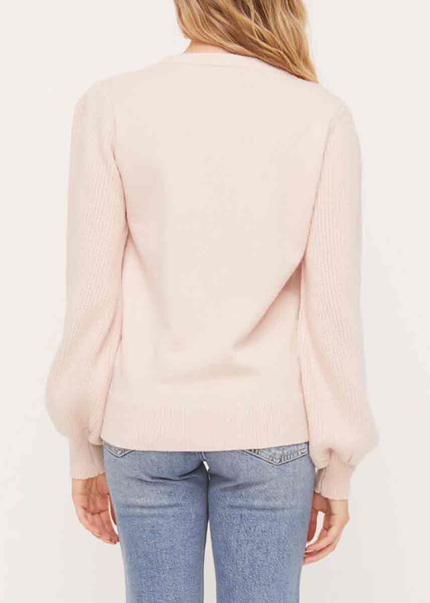 Jessica Sweater - Light Pink