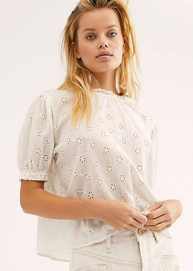Letters To Juliet Blouse - Ivory