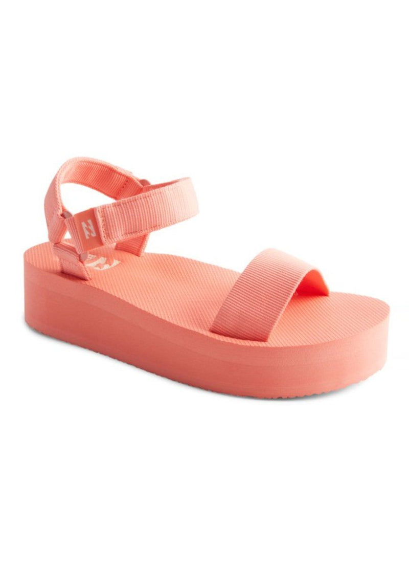 Kari On Platform Sandal - Peach