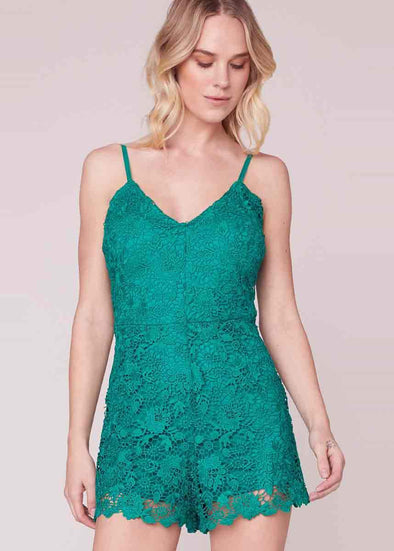 Pretty Woman Lace Romper