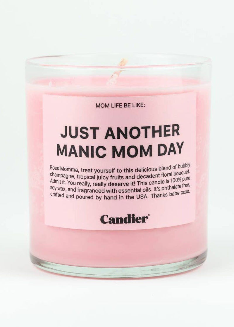 Manic Mom Day Candle