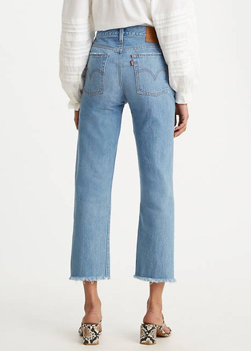 Levi's Wedgie Straight Jeans - Market Street