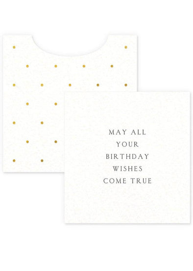 Birthday Wishes Mini Card