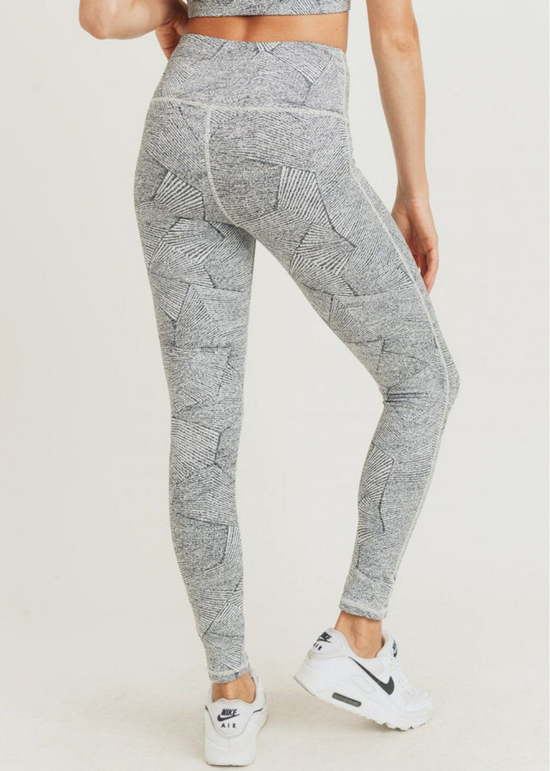 Zen Jacquard Highwaist Leggings