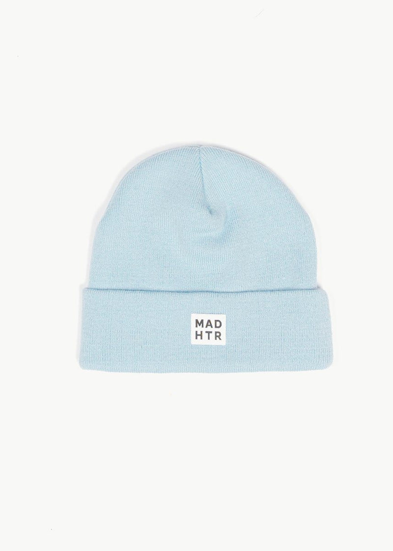 Adult Mad Hatter Classic Beanie - Sky Blue