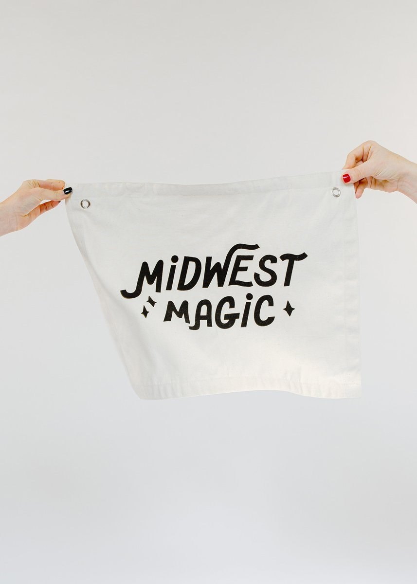 Midwest Magic Canvas Banner
