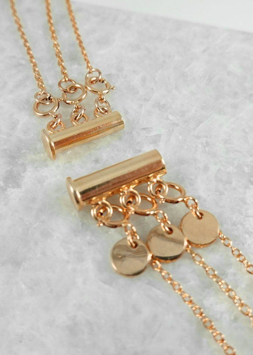 Gold Fill Necklace Separator