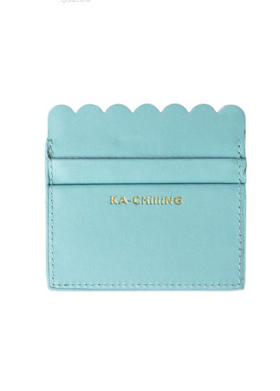 Scalloped Card Holder - Ka-Chiiing