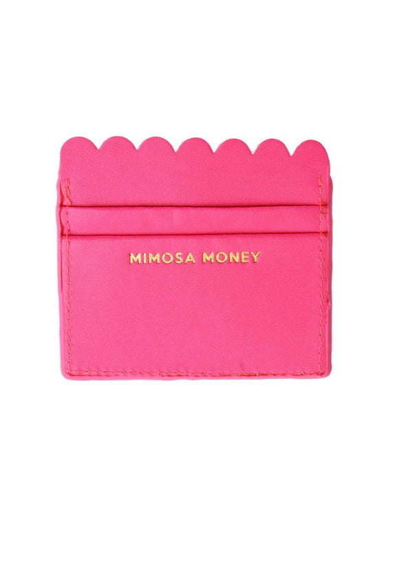 Scalloped Card Holder - Mimosa Money