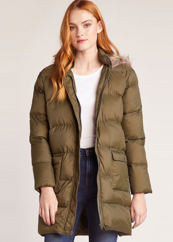 Moon Walker Puffer Jacket - Olive