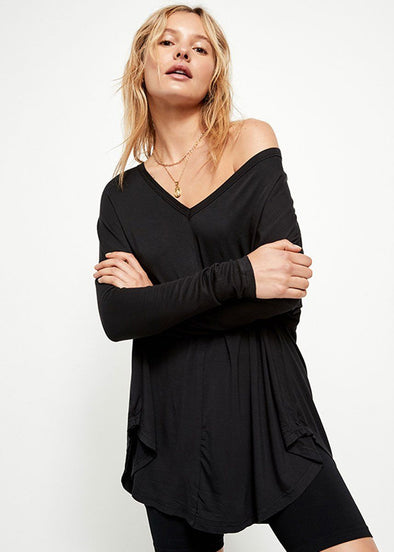 Moonshine Tunic - Black