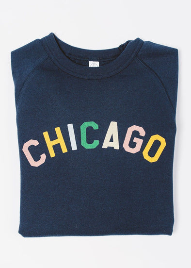 Sweet Home Chicago Sweatshirt - Navy