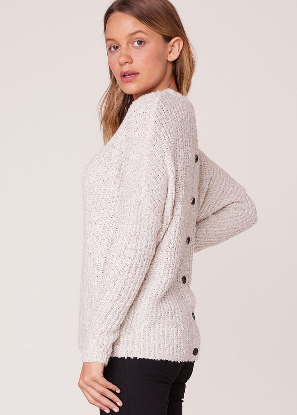 No Going Back Sweater - Oatmeal