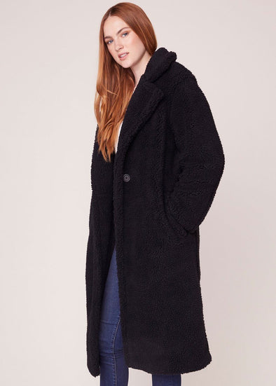 Paddington Coat Teddy - Black