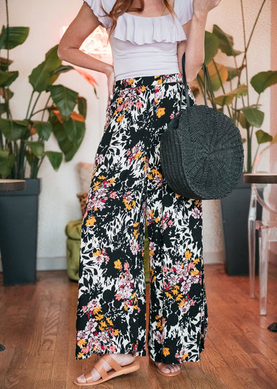 Midnight Floral Pants