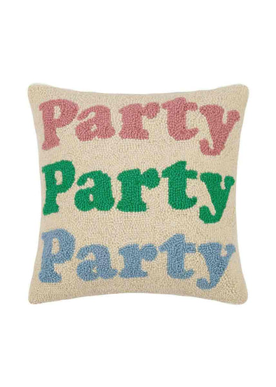 Party Party Party Throw Pillow