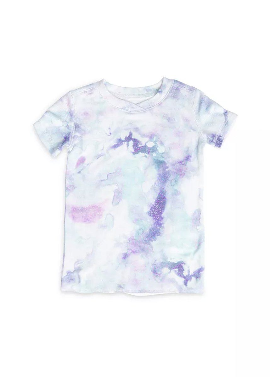 Kids Tie Dye Lounge Set - Sea Blue