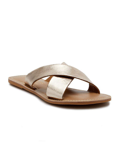 Pebble Sandal - Gold
