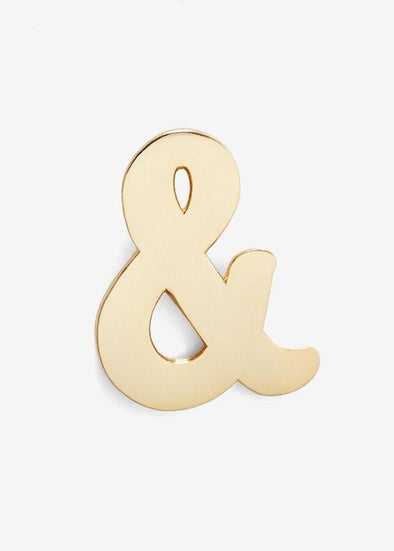 Ampersand Pin + Post