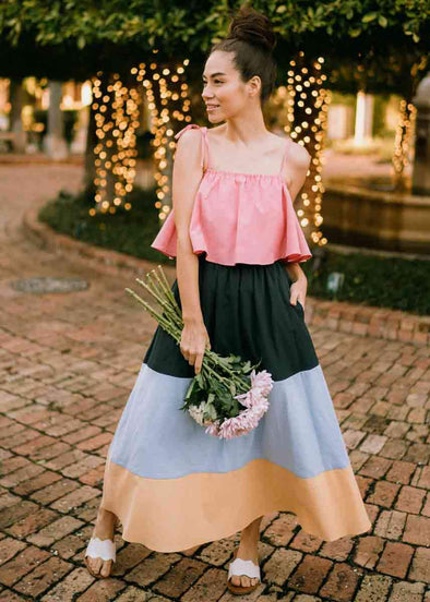 Coco Colorblock Maxi Dress
