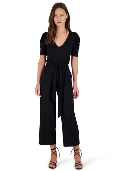 Puff Enough Jumpsuit - Black