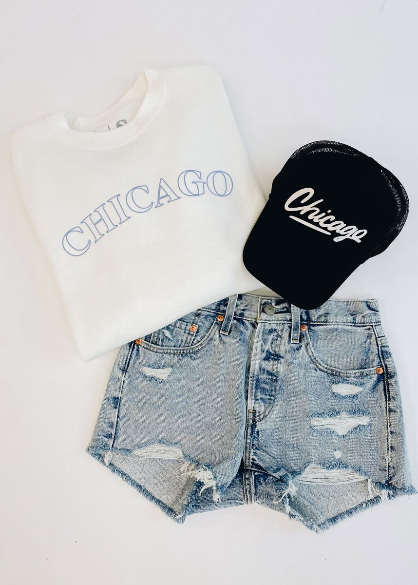 Chicago Puff Sweatshirt