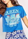 Queen In Concert Rebel Crop Tee