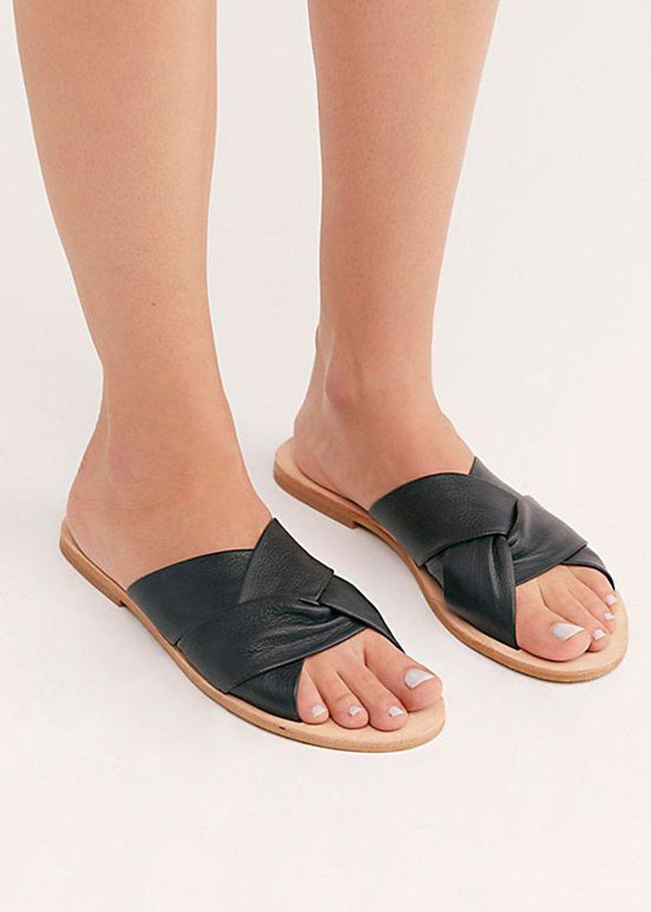 Rio Vista Slide Sandal - Black