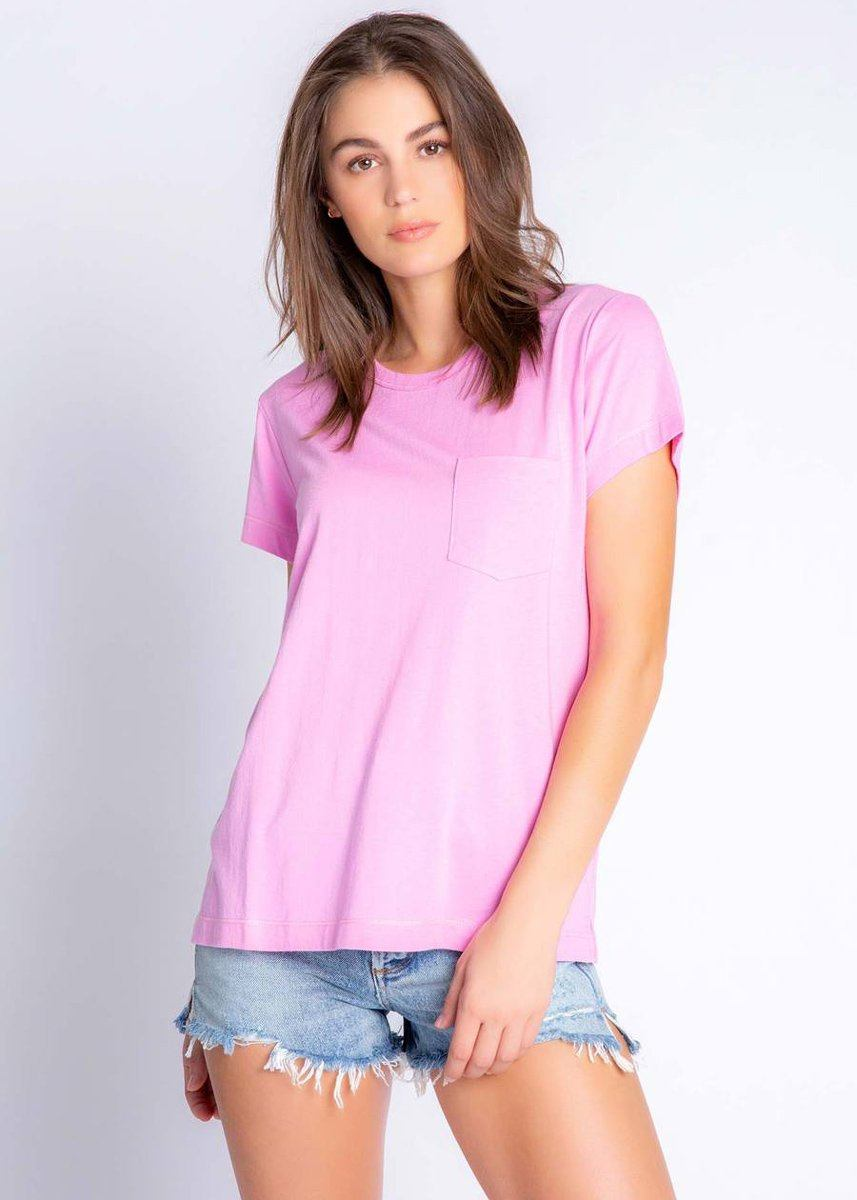 Back To Basic Short Sleeve Tee - Lilac Rose