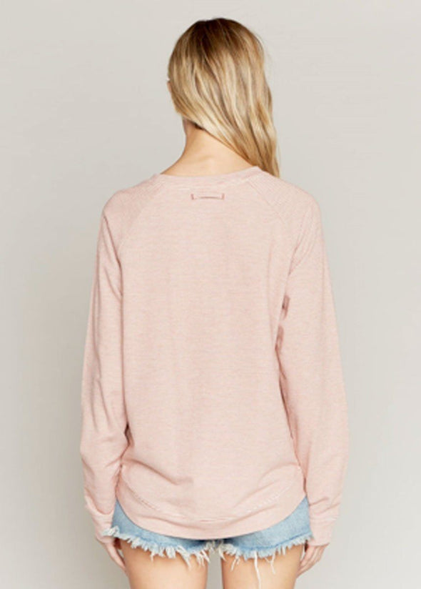 Field Day Crew Neck - Rosewood