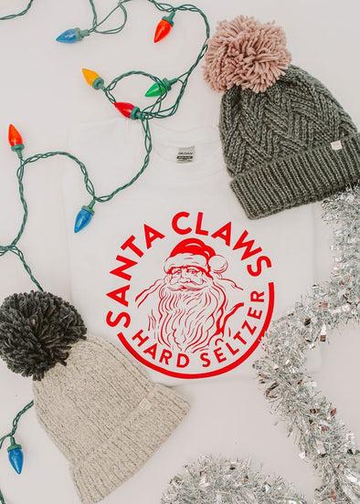 Santa Claws Crew Neck Sweatshirt
