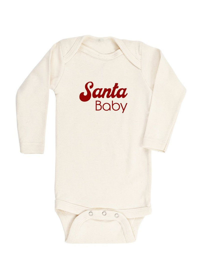 Santa Baby Long Sleeve Bodysuit