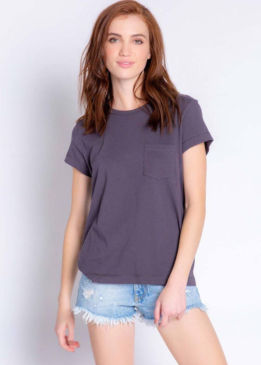 Back To Basics Short Sleeve Tee - Slate