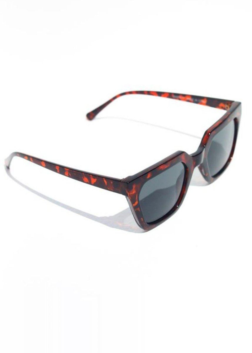 Snatched Square Sunnies - Tortoise
