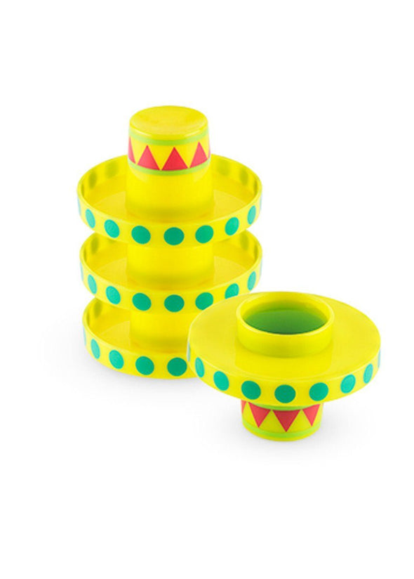 Sombrero Shot Glasses - Set Of 4
