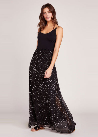 Wandering Star Black Maxi Skirt