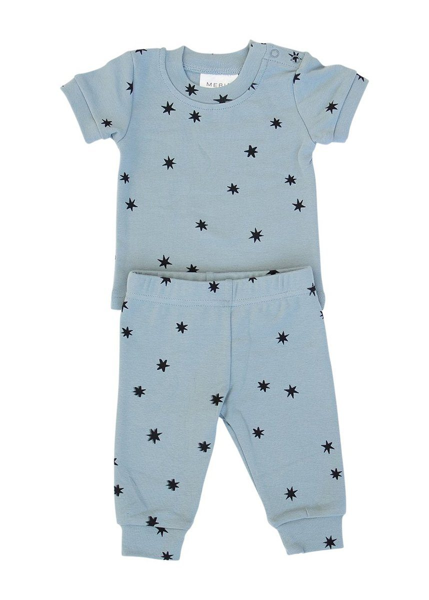 Stars Cotton Short Sleeve Two-Piece