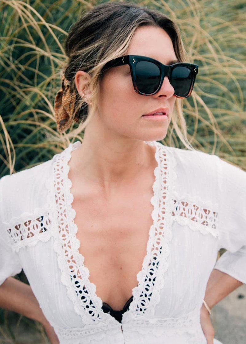 Stevie Sunnies - Black Tortoise